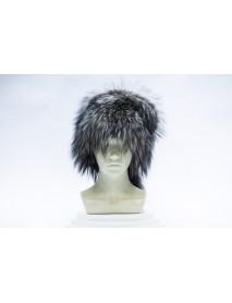 Женская шапка из лисы