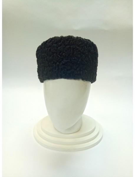 Мужская шапка-ушанка из каракуля