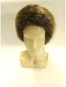 Женская шапка из бобра