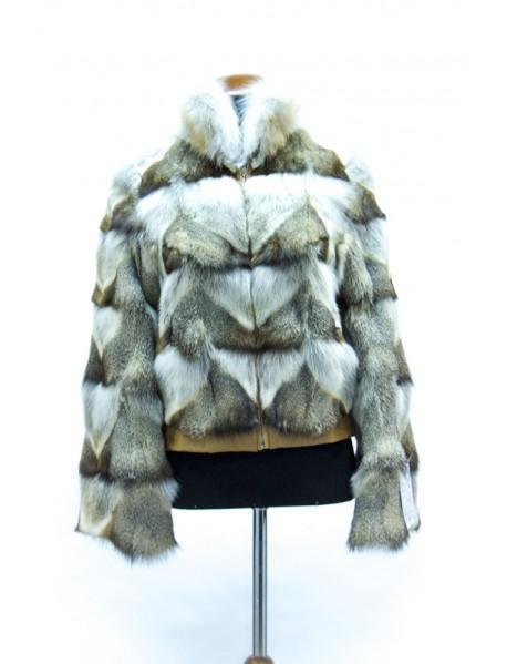 Куртка из лисы