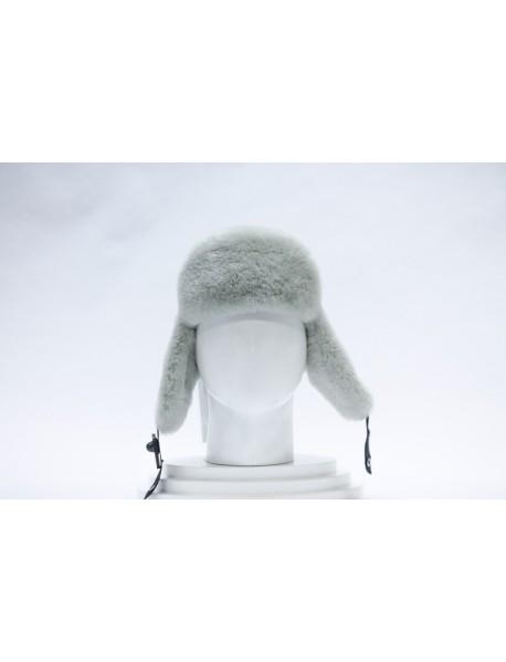 Мужская шапка-ушанка из овчины