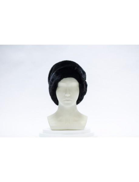 Женская шляпка из норки