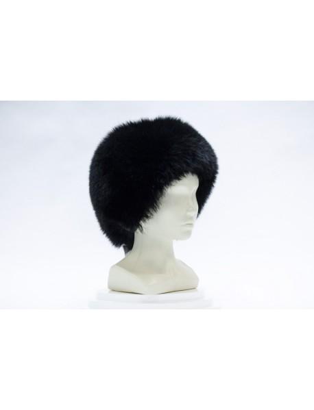 Женская шапка из песца