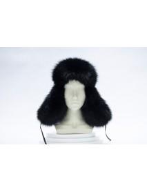 Женская шапка-ушанка из пушнины