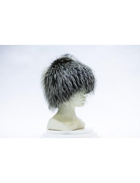 Женская шапка-сноп из лисы