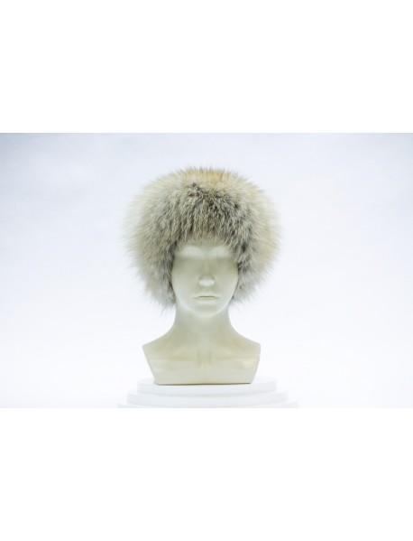 Женская шапка-сноп из пушнины