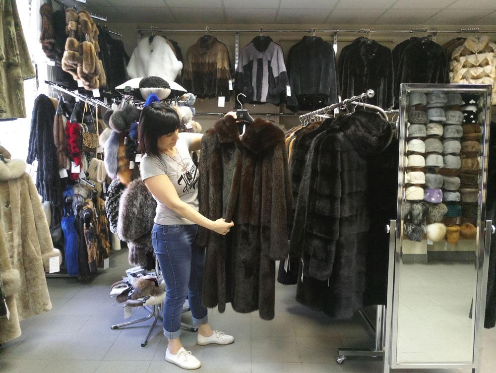 магазин меха в спб на черной речке